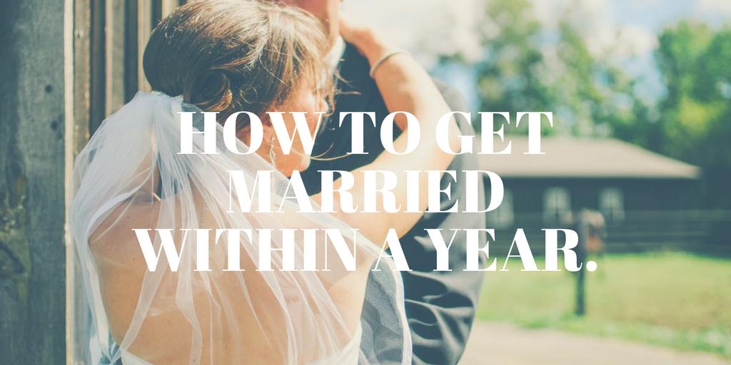 1年以内に結婚する方法